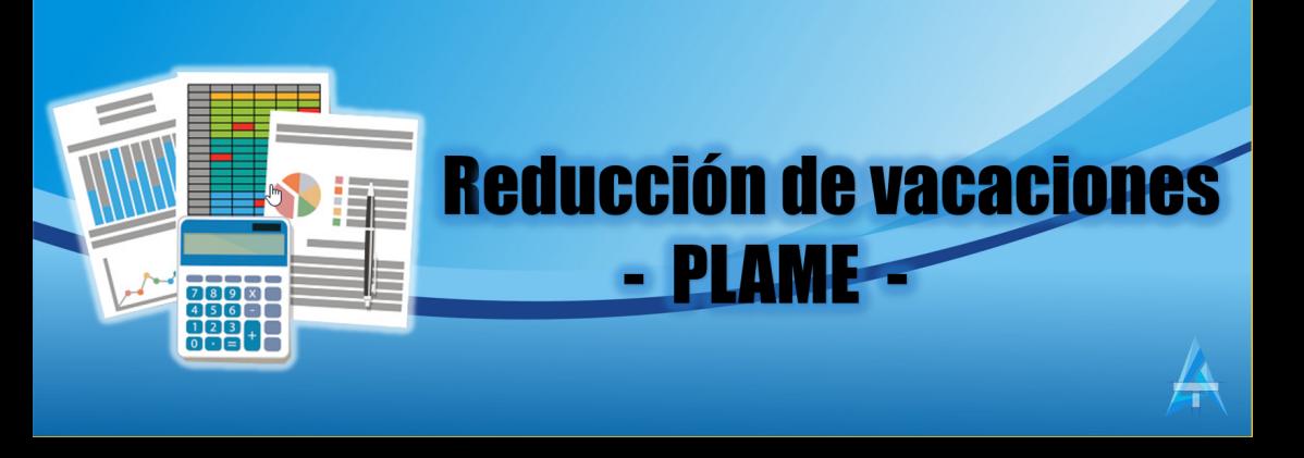 Registro de reducción de vacaciones en la PLAME (venta de vacaciones)