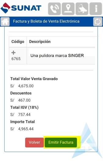 13.1.imagen_emision de factura desde el celular