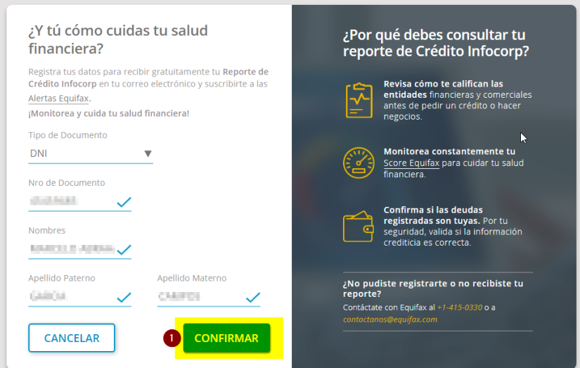 2 REPORTE DE DEUDA INFOCORP