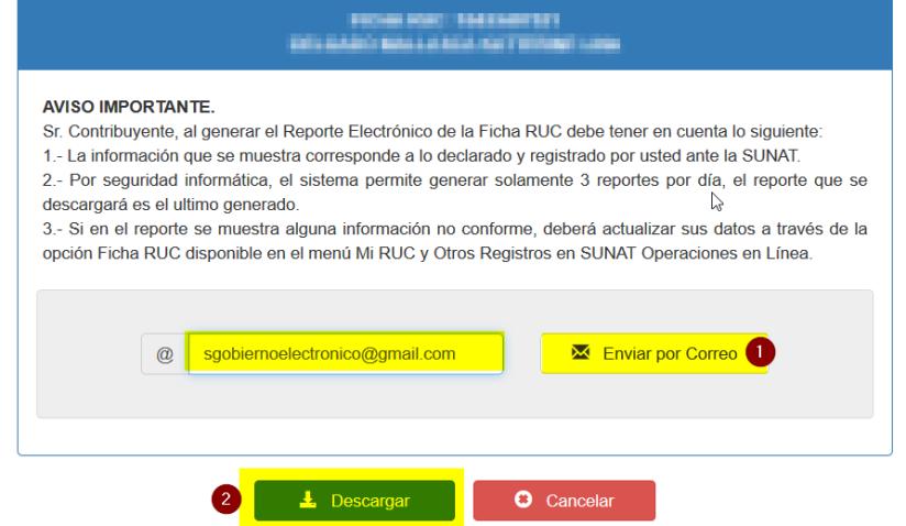 5 reporte certificado de tu Ficha RUC