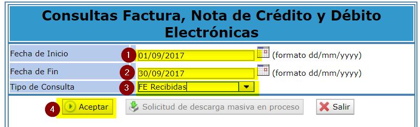 4. Descarga de factura electronica SUNAT