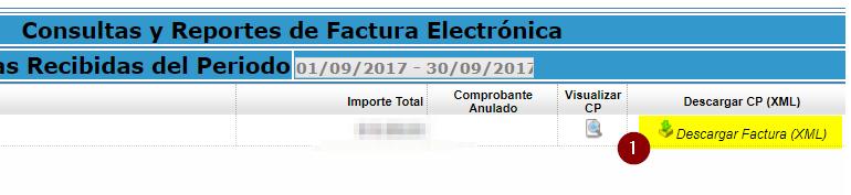 5. Descarga de factura electronica SUNAT